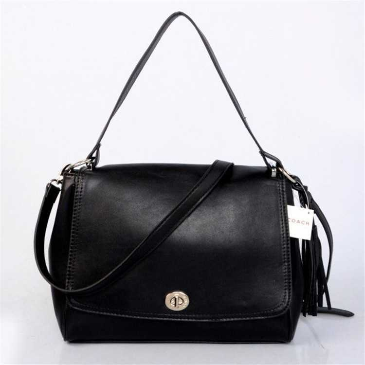 Black Coach Mini Bag