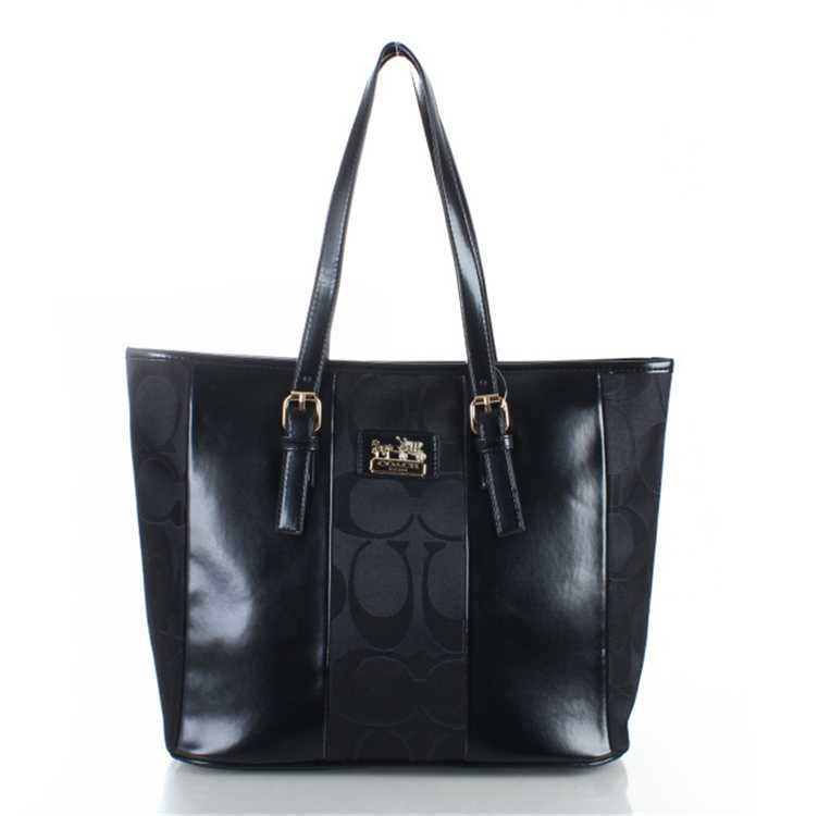 Coach Poppy Black Handbag