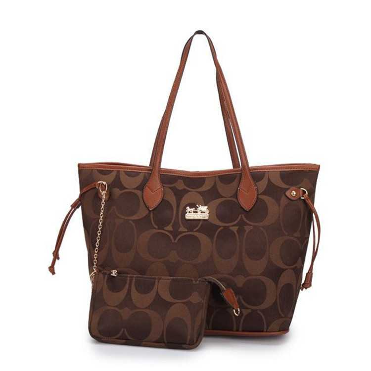 Poppy Handbag Brown Coach