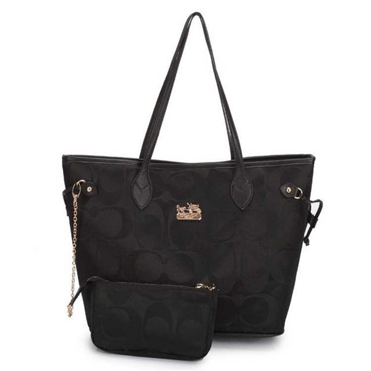Poppy Handbag Black Coach