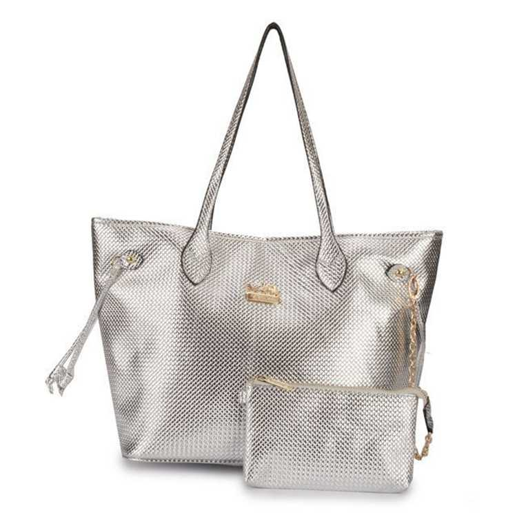 Sliver Poppy Handbag Coach