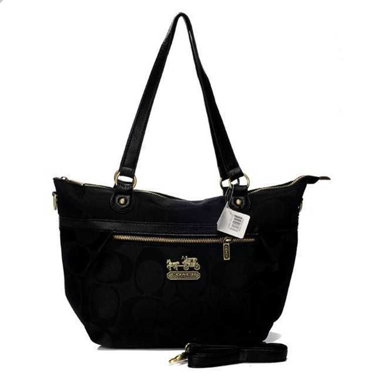 Coach Black Poppy Bag