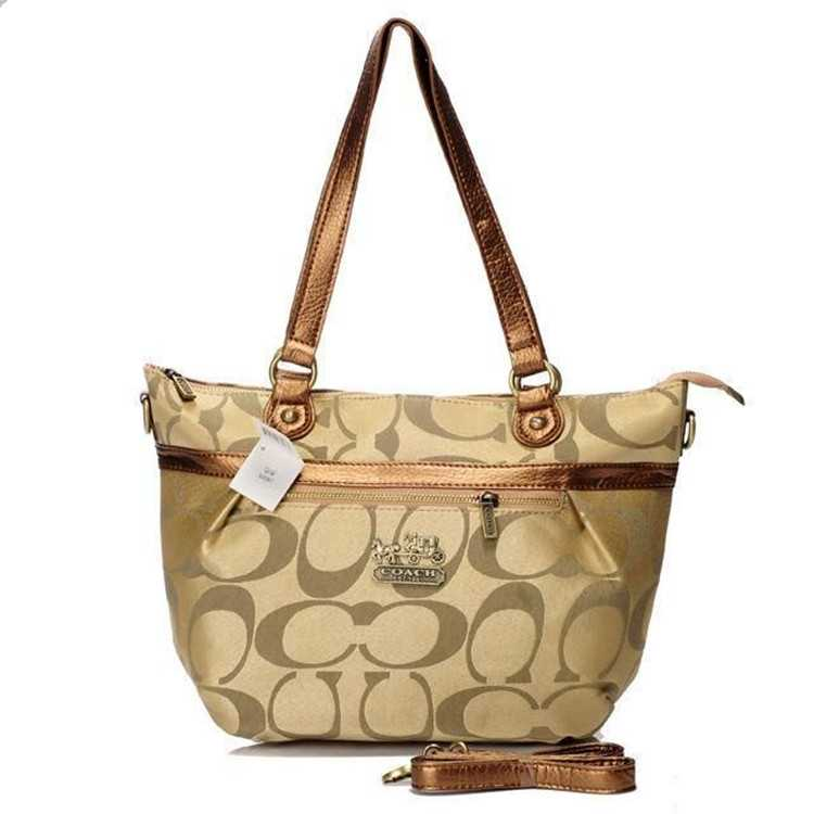 Coach Apricot Poppy Bag