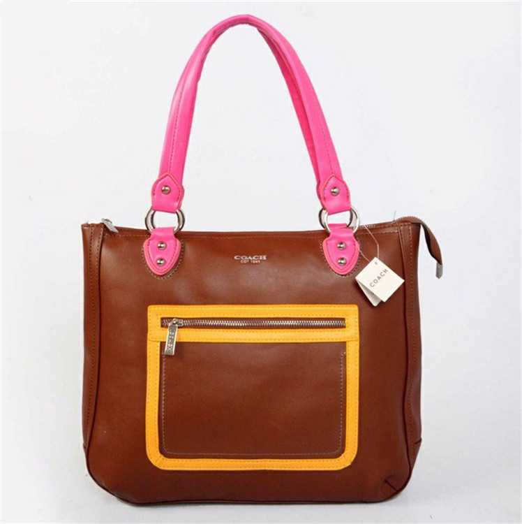 Coach Coffee Pink Poppy Bag