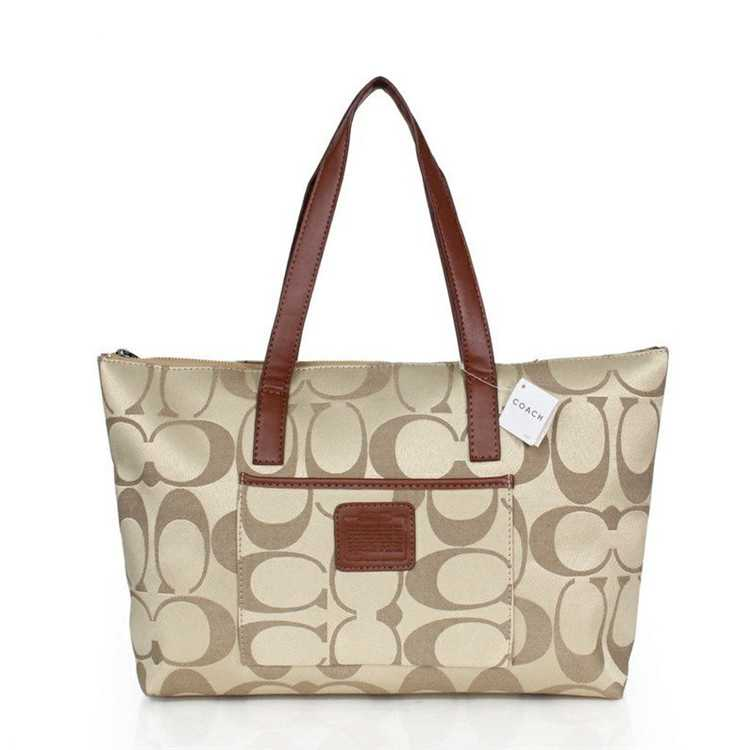 Apricot Brown Coach Poppy Bag