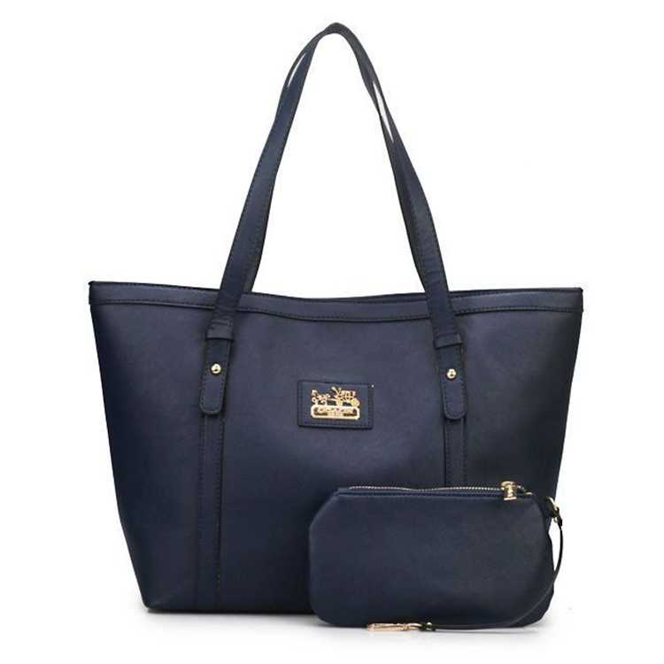 Coach Navy Poppy Bag