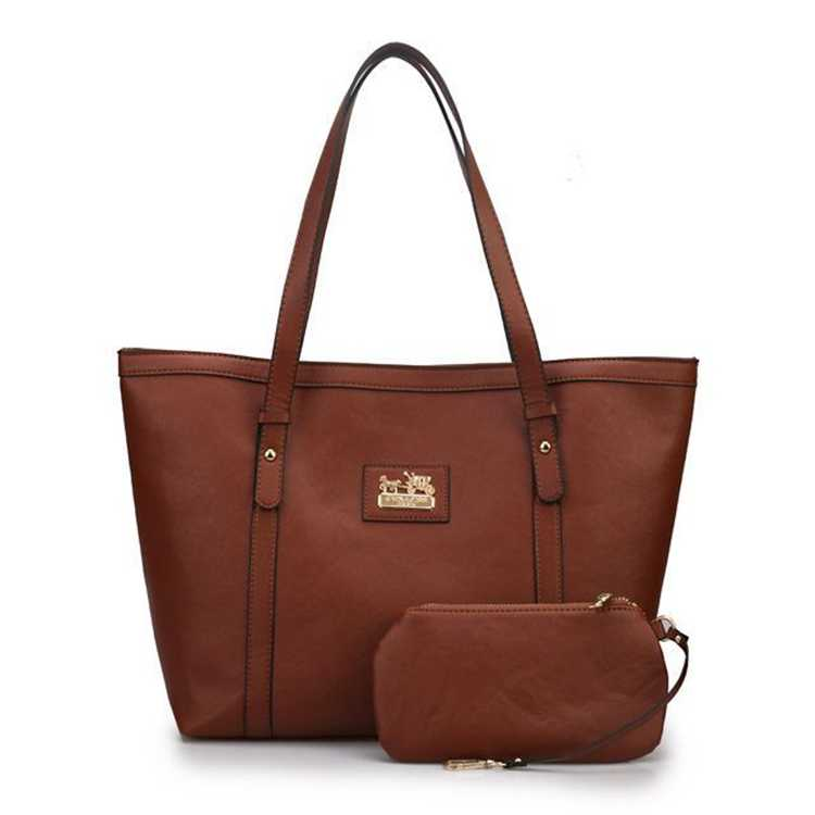 Coach Brown Poppy Bag