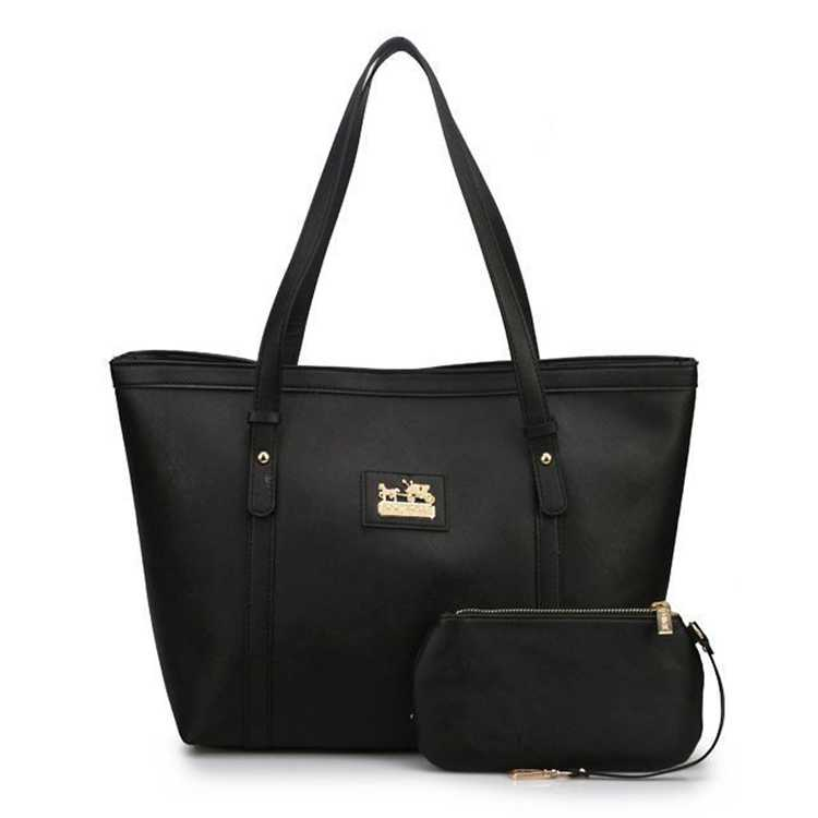 Coach Poppy Black Bag