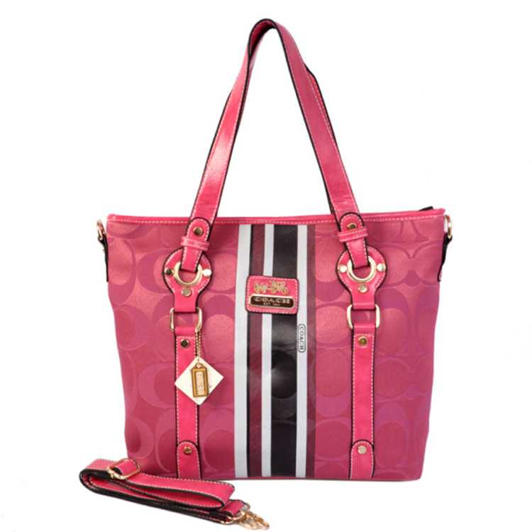 Pink Coach Poppy Bag