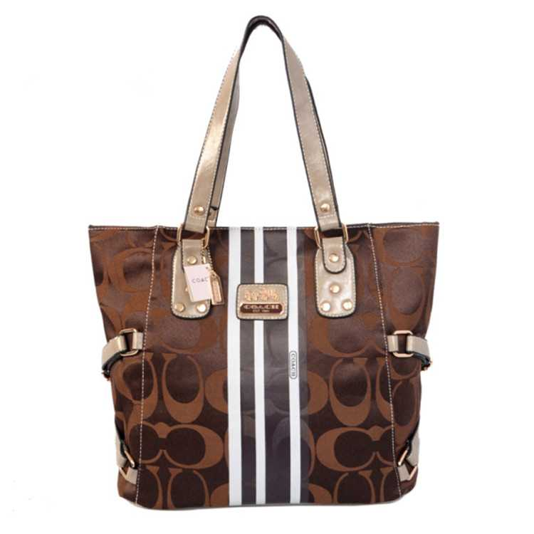 Coach Poppy Chocolate Bag