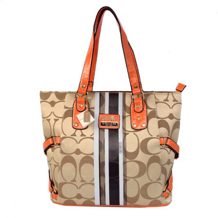 Coach Poppy Apricot Bag