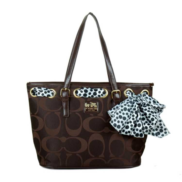 Coach Poppy Bag Chocolate