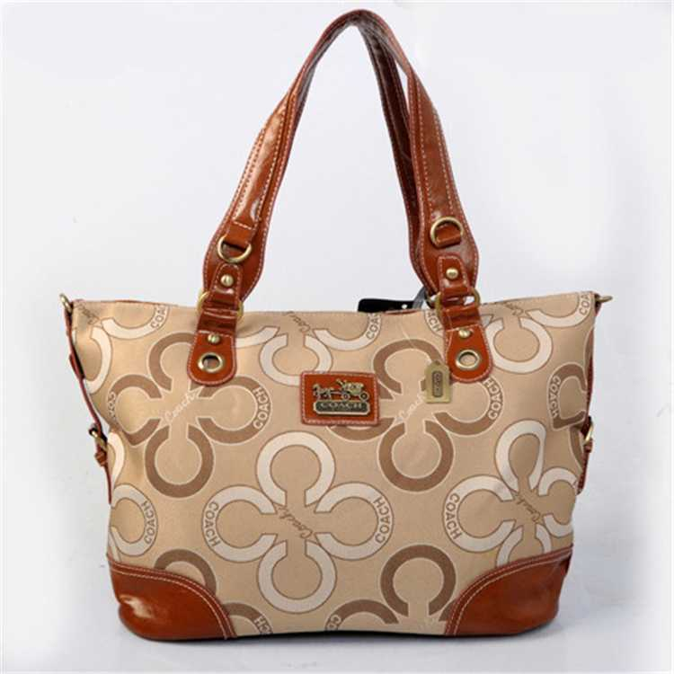 Coach Coffee Apricot Poppy Bag