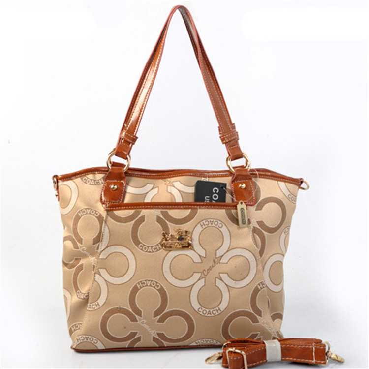 Apricot Coffee Coach Poppy Bag