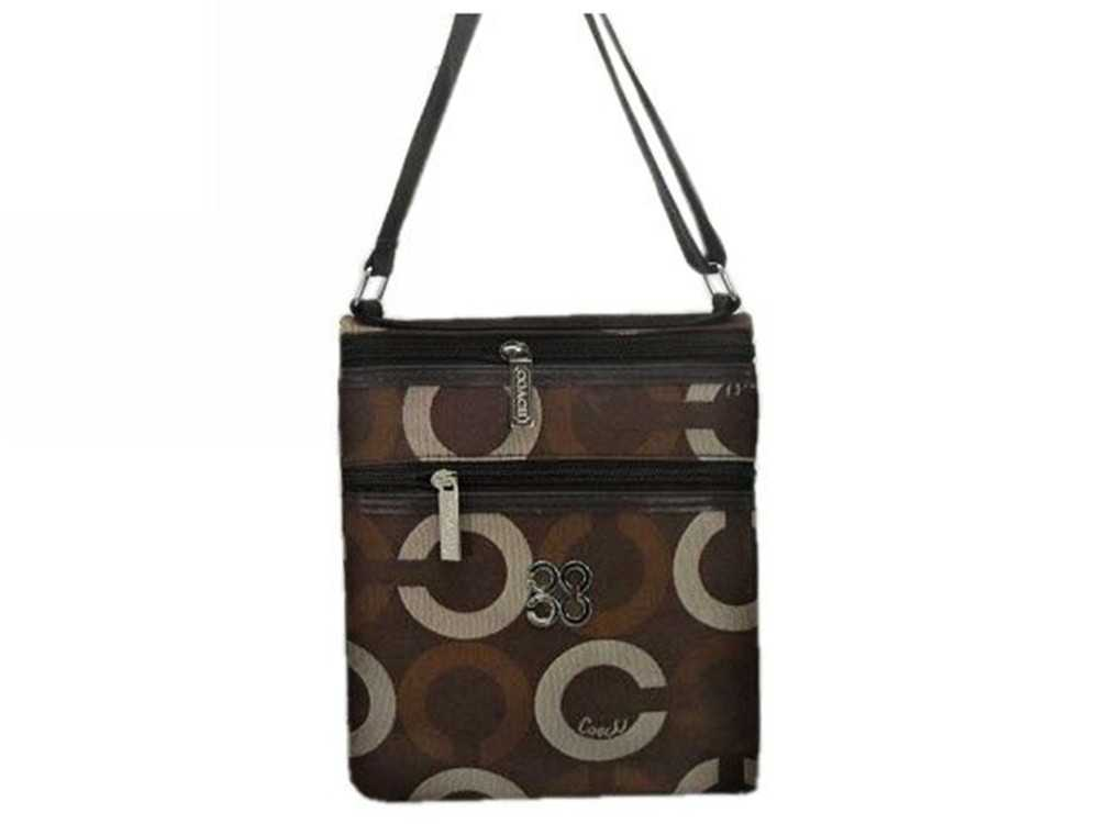 Coach Chocolate Shoulder Bag