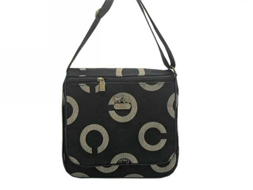 Black Coach Shoulder Bag