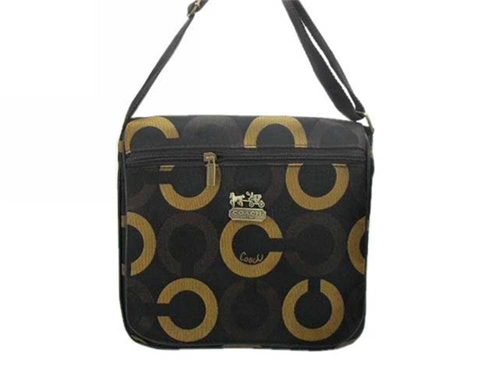 Coach Coffee Brown Shoulder Bag