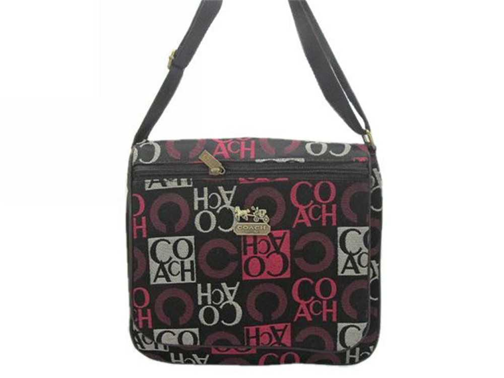 Coach Black Red Shoulder Bag