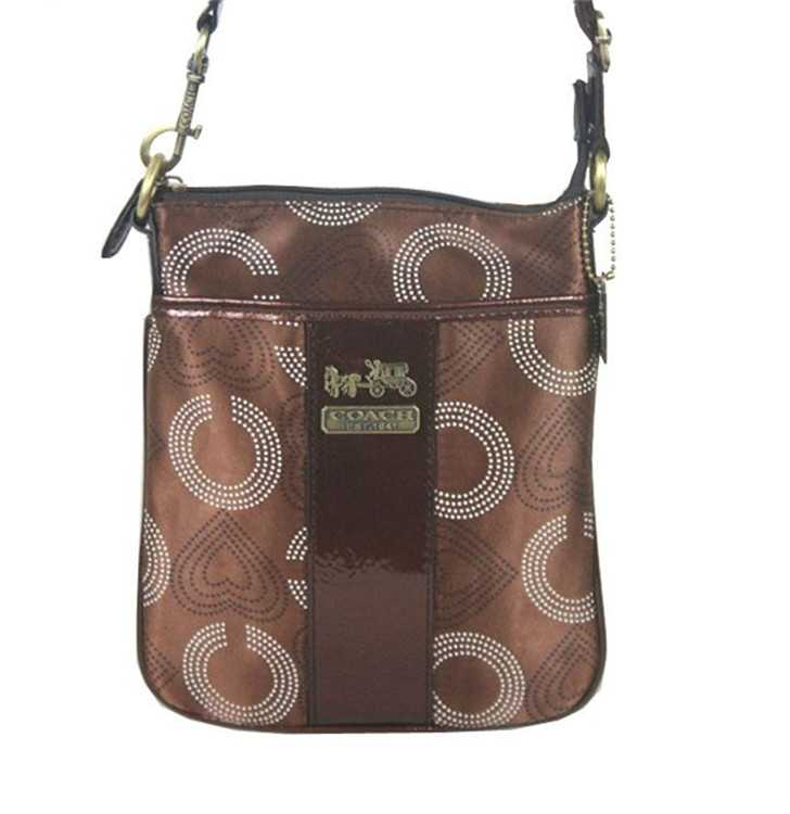 Coach Shoulder Bag Brown