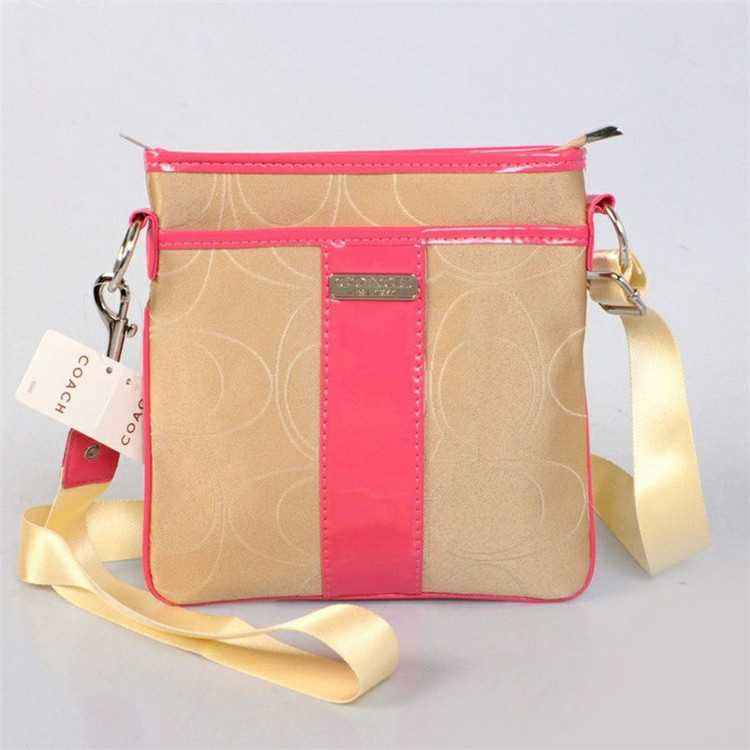 Coach Pink Apricot Shoulder Bag