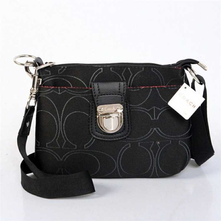 Coach Shoulder Handbag Black