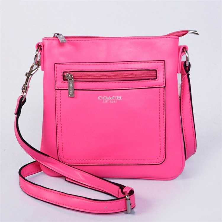 Coach Pink Shoulder Handbag