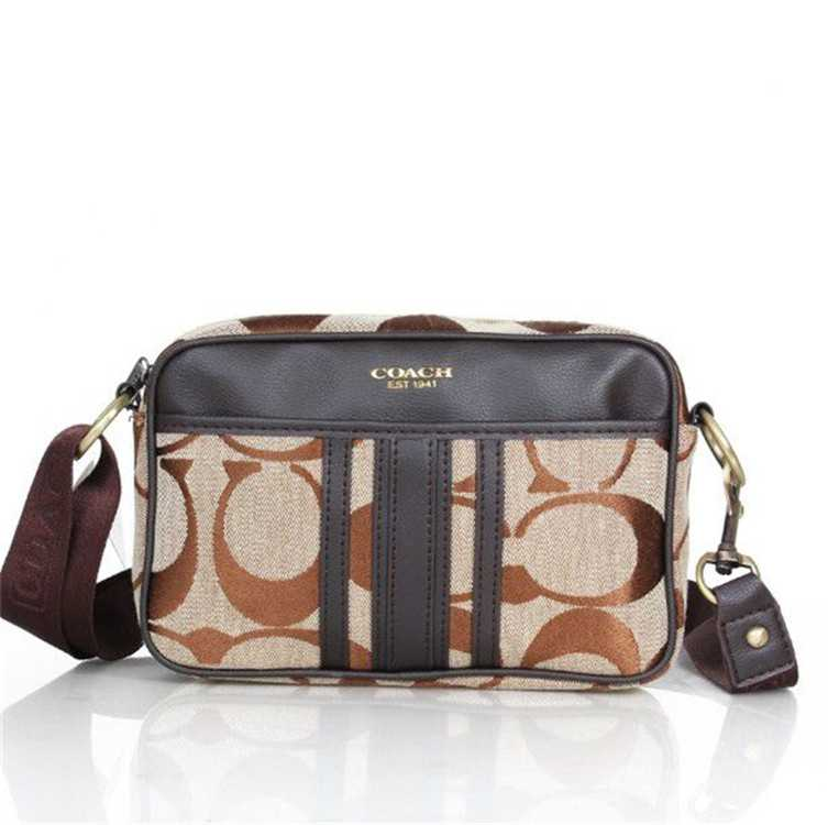 Shoulder Bag Brown Black Coach