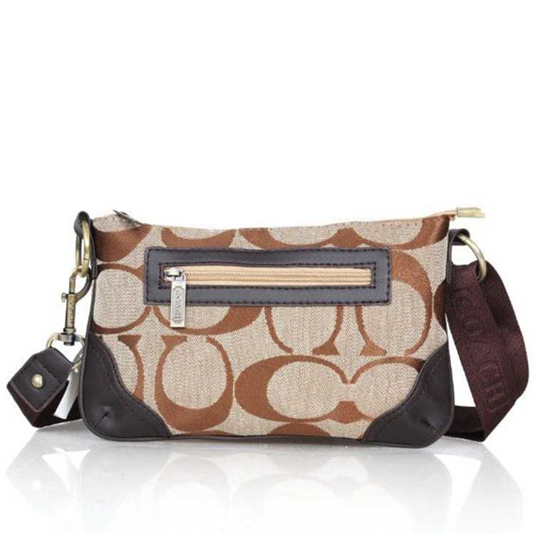 Shoulder Bag Apricot Brown Coach