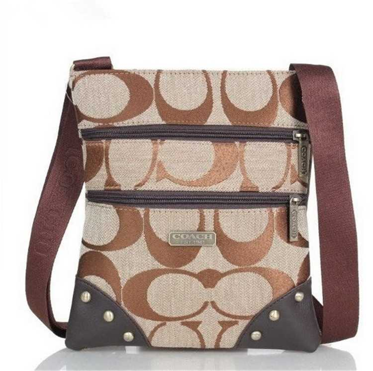 Shoulder Bag Brown Apricot Coach