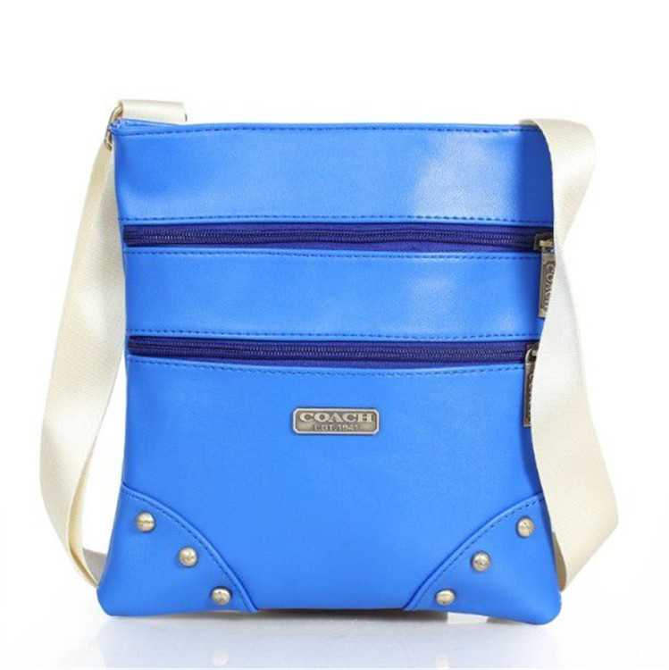 Blue Shoulder Bag Coach