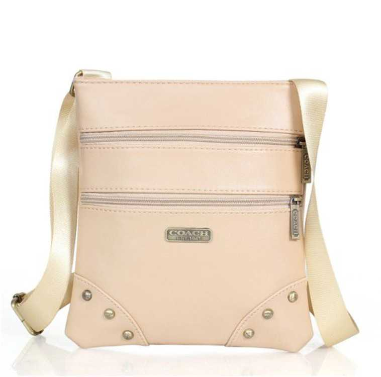 Beige Shoulder Bag Coach
