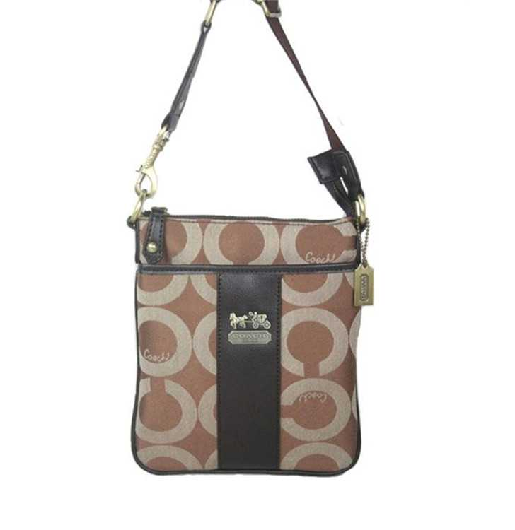 Shoulder Bag Circle Brown Coach