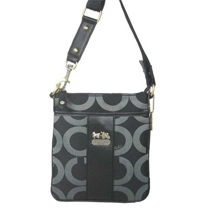 Shoulder Bag Circle Black Coach