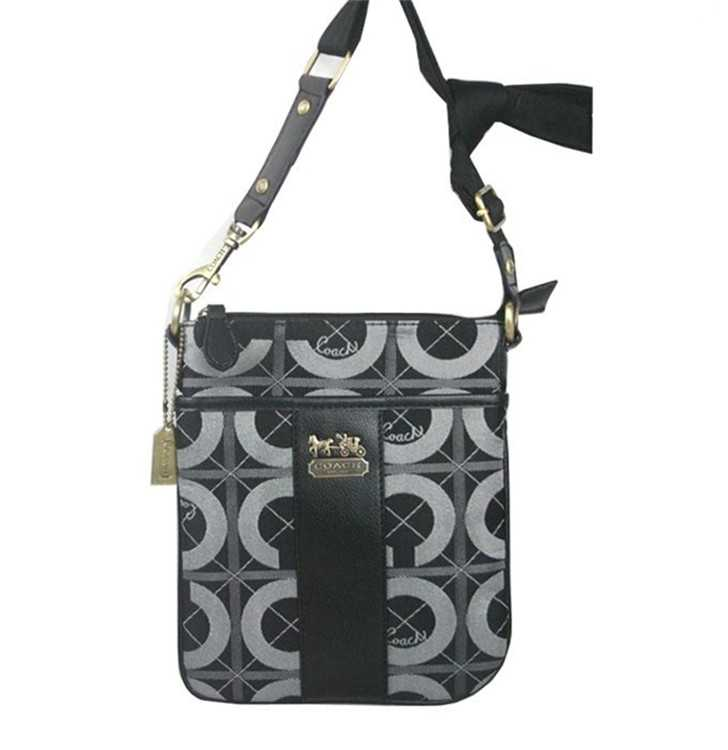 Shoulder Bag Circle Gray Coach