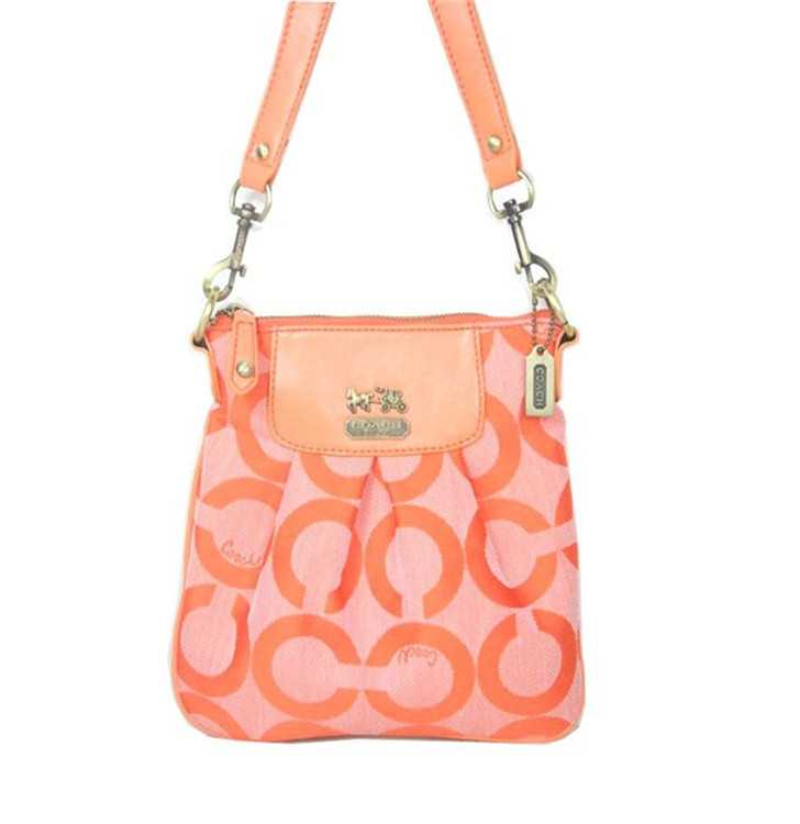 Shoulder Bag Orange Coach