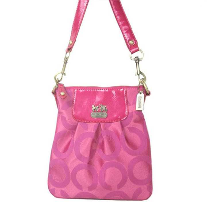 Pink Shoulder Bag Coach