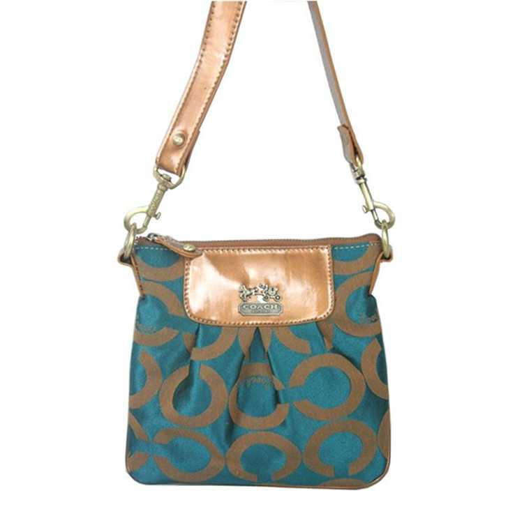 Shoulder Bag Circle Blue Coach