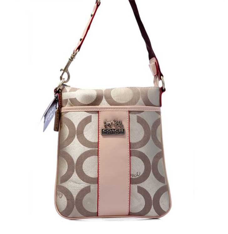 Shoulder Bag Milky Apricot Coach