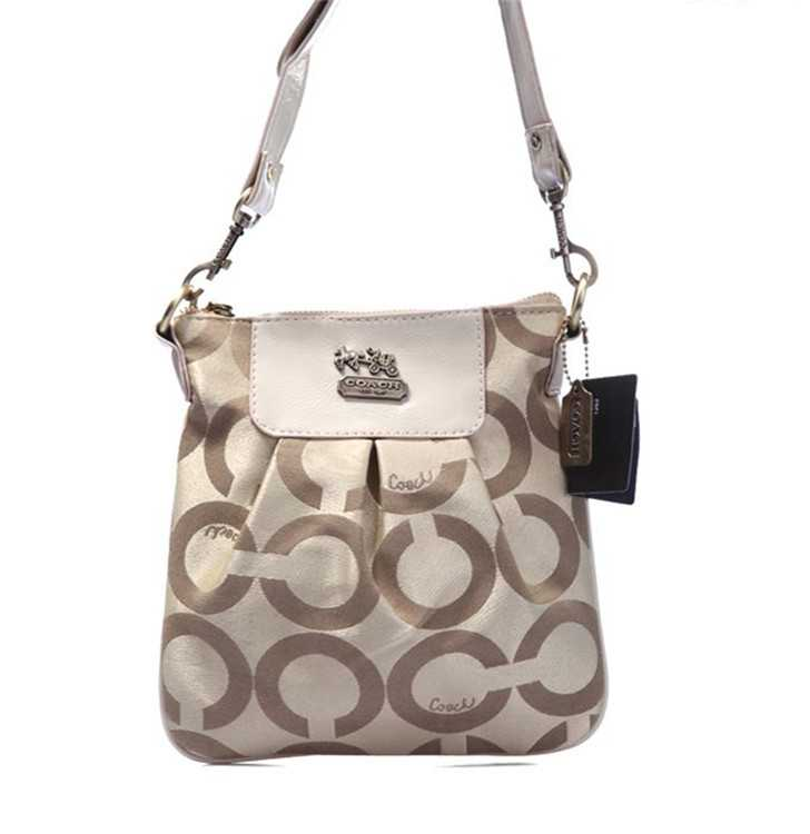 Shoulder Coach Bag Circle Brown
