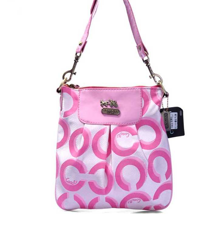 Shoulder Coach Bag Pink