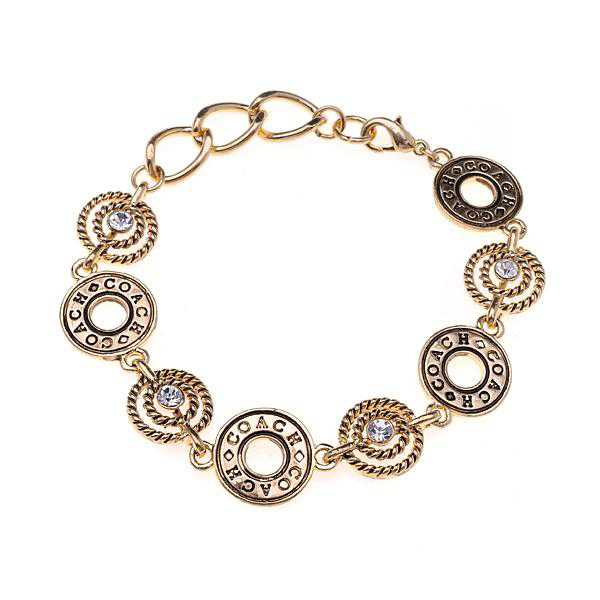 Coach Open Circles Gold Bracelets ALH