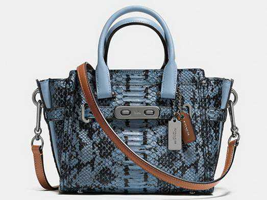 2017 Authentic Coach Blue Totes Handbags