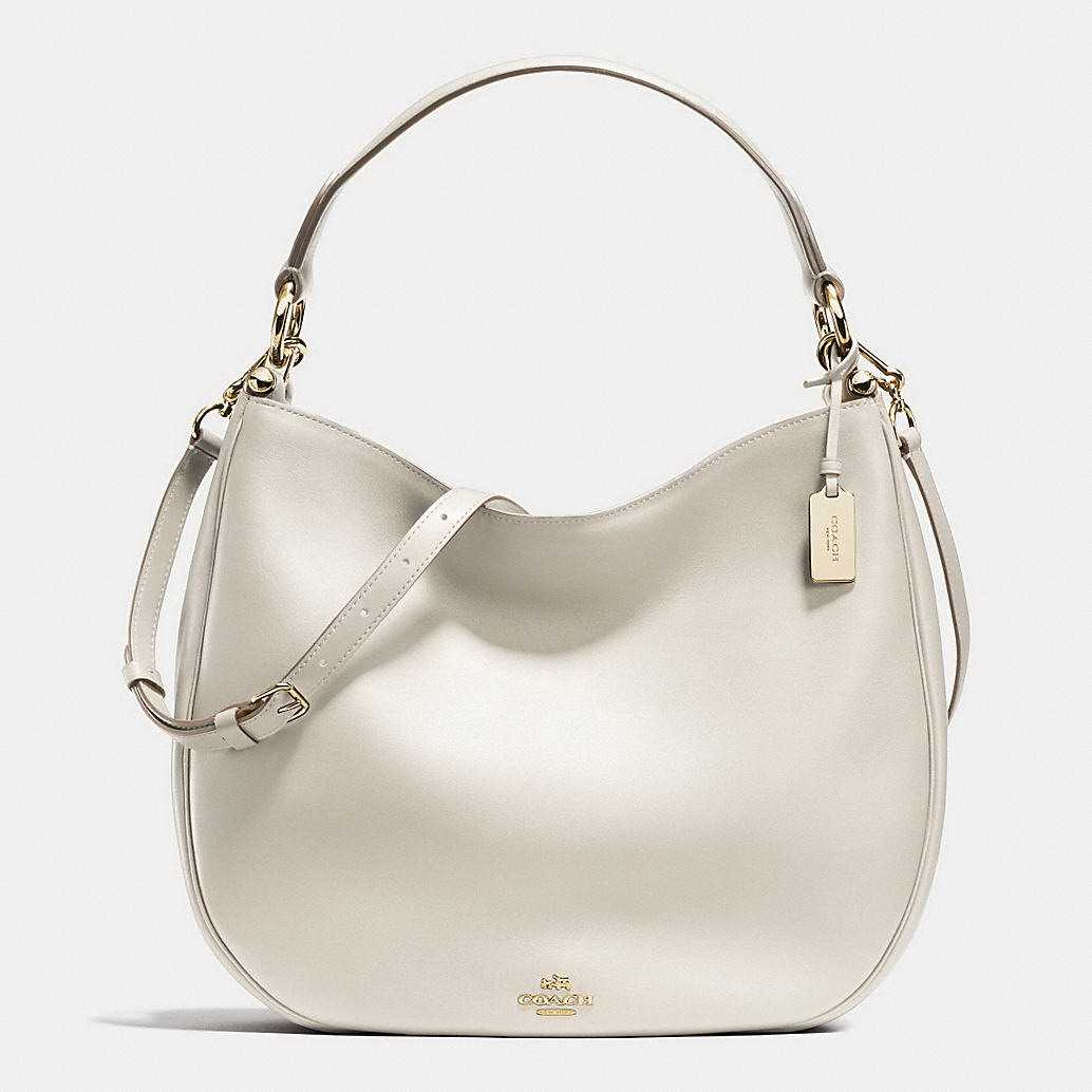 2017 Authentic Coach White Hobos Handbags