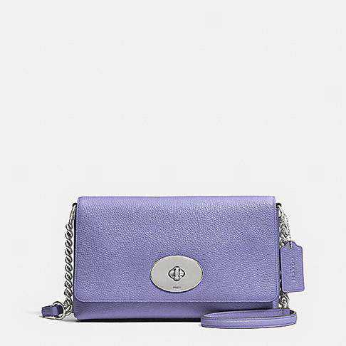 2017 Authentic Coach Purple Clutches Handbags
