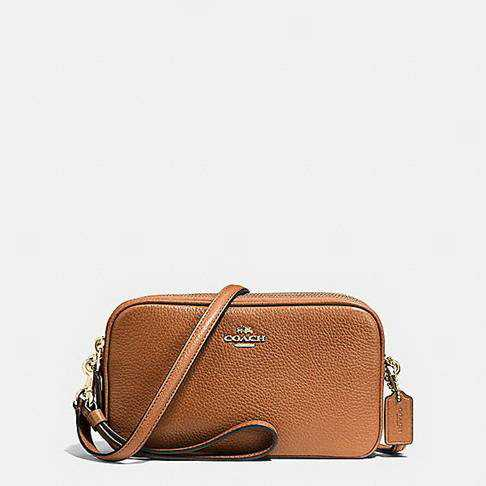 2017 Authentic Coach Brown Clutches Handbags