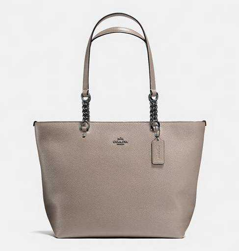2017 Authentic Coach Grey Totes Handbags