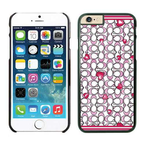 Coach Love Logo Pink iPhone 6 Cases EZJ