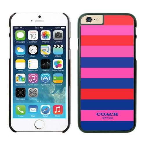 Coach Stripe Multicolor iPhone 6 Cases FBD