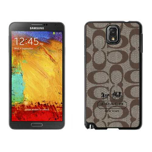 Coach In Signature Beige Samsung Note 3 Cases DSG