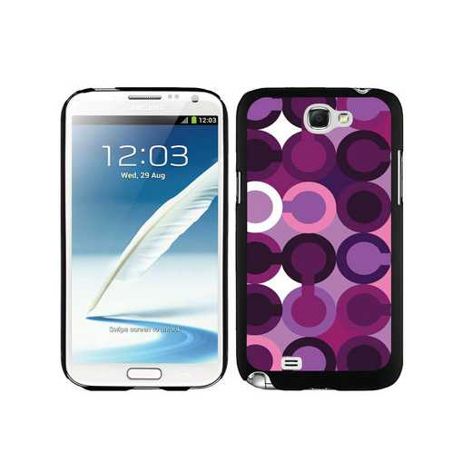 Coach Fashion C Purple Samsung Note 2 Cases DSV
